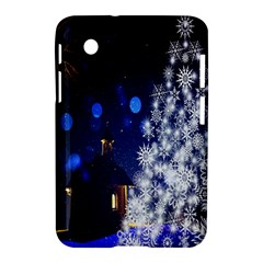 Christmas Card Christmas Atmosphere Samsung Galaxy Tab 2 (7 ) P3100 Hardshell Case  by Nexatart