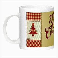Christmas Xmas Patterns Pattern Night Luminous Mugs
