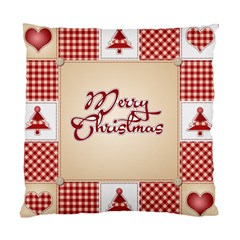Christmas Xmas Patterns Pattern Standard Cushion Case (two Sides) by Nexatart