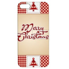 Christmas Xmas Patterns Pattern Apple Iphone 5 Hardshell Case With Stand