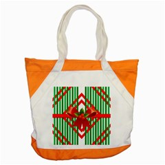 Christmas Gift Wrap Decoration Red Accent Tote Bag by Nexatart