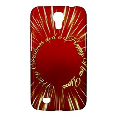 Christmas Greeting Card Star Samsung Galaxy Mega 6 3  I9200 Hardshell Case by Nexatart