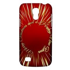 Christmas Greeting Card Star Galaxy S4 Mini