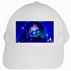 Christmas Nicholas Ball White Cap by Nexatart