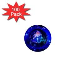 Christmas Nicholas Ball 1  Mini Buttons (100 Pack)