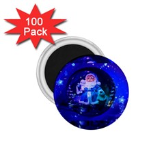 Christmas Nicholas Ball 1 75  Magnets (100 Pack)  by Nexatart