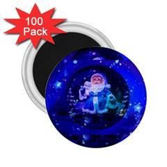 Christmas Nicholas Ball 2 25  Magnets (100 Pack)  by Nexatart