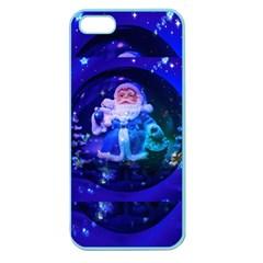 Christmas Nicholas Ball Apple Seamless Iphone 5 Case (color) by Nexatart
