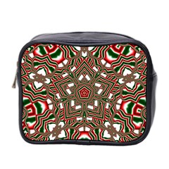 Christmas Kaleidoscope Mini Toiletries Bag 2 Side