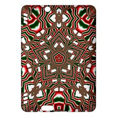 Christmas Kaleidoscope Kindle Fire Hdx Hardshell Case