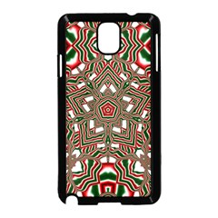 Christmas Kaleidoscope Samsung Galaxy Note 3 Neo Hardshell Case (black)