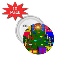Christmas Ornaments Advent Ball 1 75  Buttons (10 Pack) by Nexatart
