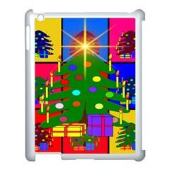 Christmas Ornaments Advent Ball Apple Ipad 3/4 Case (white)