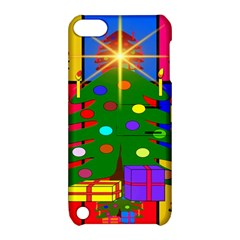 Christmas Ornaments Advent Ball Apple Ipod Touch 5 Hardshell Case With Stand