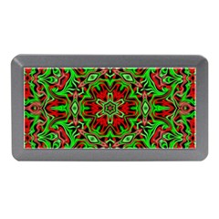 Christmas Kaleidoscope Pattern Memory Card Reader (mini)