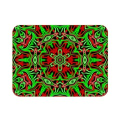 Christmas Kaleidoscope Pattern Double Sided Flano Blanket (mini)  by Nexatart