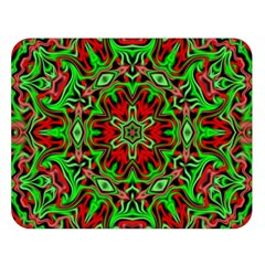 Christmas Kaleidoscope Pattern Double Sided Flano Blanket (large)