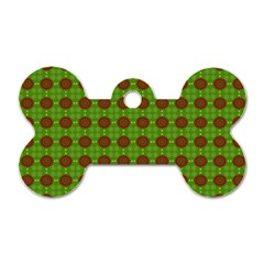Christmas Paper Wrapping Patterns Dog Tag Bone (one Side)