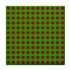 Christmas Paper Wrapping Patterns Face Towel