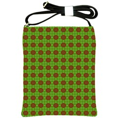 Christmas Paper Wrapping Patterns Shoulder Sling Bags