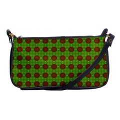Christmas Paper Wrapping Patterns Shoulder Clutch Bags by Nexatart