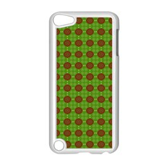 Christmas Paper Wrapping Patterns Apple Ipod Touch 5 Case (white)