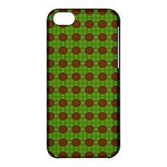 Christmas Paper Wrapping Patterns Apple Iphone 5c Hardshell Case by Nexatart