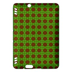 Christmas Paper Wrapping Patterns Kindle Fire Hdx Hardshell Case by Nexatart