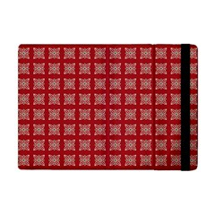 Christmas Paper Pattern Apple iPad Mini Flip Case by Nexatart