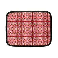Christmas Paper Wrapping Pattern Netbook Case (small)