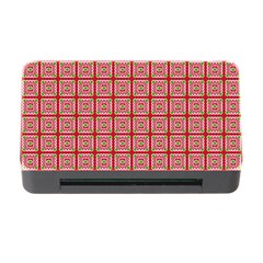 Christmas Paper Wrapping Pattern Memory Card Reader With Cf by Nexatart