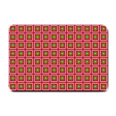 Christmas Paper Wrapping Small Doormat