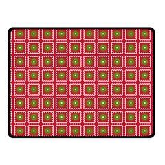 Christmas Paper Wrapping Fleece Blanket (small) by Nexatart