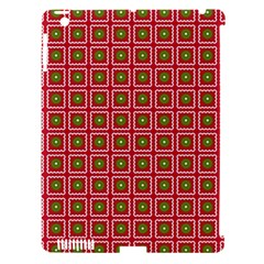 Christmas Paper Wrapping Apple Ipad 3/4 Hardshell Case (compatible With Smart Cover)