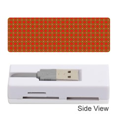 Christmas Paper Wrapping Paper Pattern Memory Card Reader (stick)