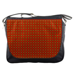Christmas Paper Wrapping Paper Pattern Messenger Bags by Nexatart