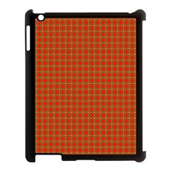 Christmas Paper Wrapping Paper Pattern Apple Ipad 3/4 Case (black)