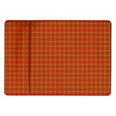 Christmas Paper Wrapping Paper Pattern Samsung Galaxy Tab 10 1  P7500 Flip Case