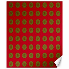 Christmas Paper Wrapping Paper Canvas 8  X 10