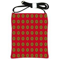 Christmas Paper Wrapping Paper Shoulder Sling Bags