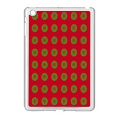 Christmas Paper Wrapping Paper Apple Ipad Mini Case (white)