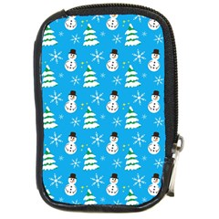 Christmas Pattern Compact Camera Cases by Nexatart