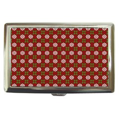 Christmas Paper Wrapping Pattern Cigarette Money Cases by Nexatart