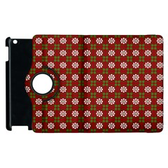 Christmas Paper Wrapping Pattern Apple Ipad 2 Flip 360 Case by Nexatart