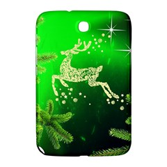 Christmas Reindeer Happy Decoration Samsung Galaxy Note 8 0 N5100 Hardshell Case