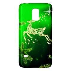 Christmas Reindeer Happy Decoration Galaxy S5 Mini