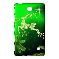 Christmas Reindeer Happy Decoration Samsung Galaxy Tab 4 (8 ) Hardshell Case  by Nexatart