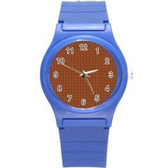 Christmas Paper Wrapping Paper Round Plastic Sport Watch (s)