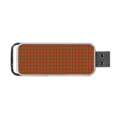 Christmas Paper Wrapping Paper Portable Usb Flash (two Sides) by Nexatart