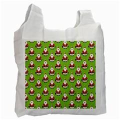 Christmas Santa Santa Claus Recycle Bag (one Side) by Nexatart